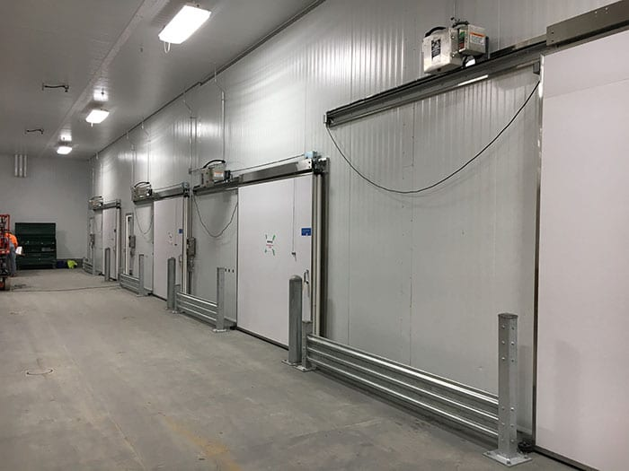 Jamison cold storage doors